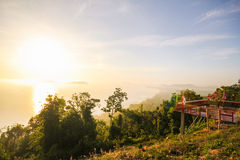 Mut Sea Mountain Viewpoint Chumphon Thailand Royalty Free Stock Images