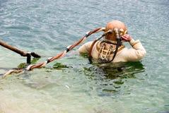 Muta subacquea di rame Fotografia Stock