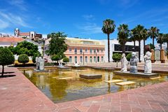 Mutamid Park, Silves, Portugal. Royalty Free Stock Photo