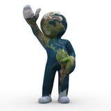 Mutant earth Stock Image