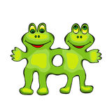 Mutant Frog Royalty Free Stock Photos
