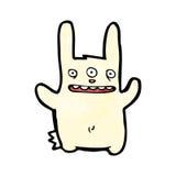 Mutant rabbit cartoon Stock Photos