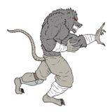Mutant rat. Creative design of mutant rat Stock Image