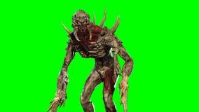 Mutante nuclear 3d de la poste-apocalipsis rendir libre illustration
