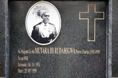 Mutara III Rudahigwa grave royalty free stock images