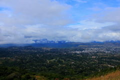 Mutare Zimbabwe Eastern Highlands view from Cecilkop Stock Photos