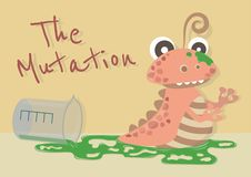 The Mutation Snail stock illustration