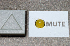 Mute Stock Image