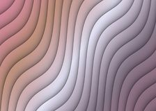 Abstract Ripples Curves Diagonal Design Background Muted Pink Coral Gray Mauve. Muted shades of pink, coral, gray, and mauve cascade diagonally down the page in stock image