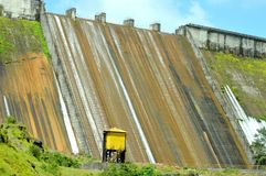 Mutha dam near lavasa, Pune Maharashtra, India. Back veiw of Indian dam, this is mutha dam near lavasa pune, Maharashtra India Stock Photos