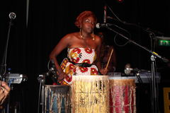 Muthoni, baterista Queen Foto de Stock