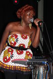 Muthoni, baterista Queen Foto de Stock Royalty Free