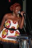Muthoni, el batería Queen Foto de archivo libre de regalías