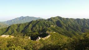 Mutianyu-Chinesische Mauer Stockfotos