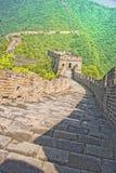 Mutianyu Chinesische Mauer des Porzellans Lizenzfreies Stockfoto