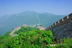 Mutianyu Great Wall in China Stock Photos