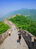 Mutianyu Great Wall in China Royalty Free Stock Image