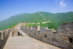 Mutianyu Great Wall in China Royalty Free Stock Photography
