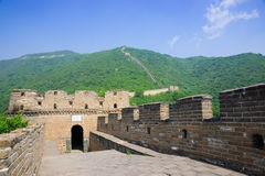 Mutianyu Great Wall in China Stock Image