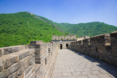Mutianyu Great Wall in China Stock Images