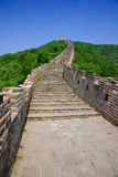 Mutianyu Great Wall in China Royalty Free Stock Photo