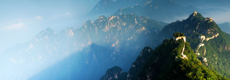 Mutianyu Great Wall Royalty Free Stock Images
