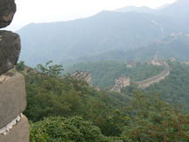 The Mutianyu section of The Great Wall of China. Mutianyu, Great wall of China royalty free stock image