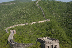 Mutianyu Section of the Great Wall of China Royalty Free Stock Image