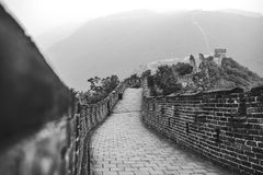 Mutianyu section of Great Wall of China Royalty Free Stock Images