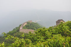 Mutianyu section of Great Wall of China Royalty Free Stock Image