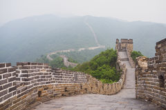 Mutianyu section of Great Wall of China Stock Photography