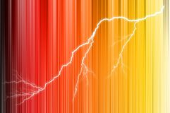 Muticolored-Linie strukturierter Hintergrund mit Blitz stock abbildung