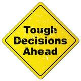 Mutige Entscheidungen voran vektor abbildung