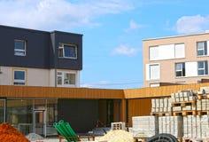Mutlangen, Deutschland Juni 17,2018: Bau einer Gemeinschaft b lizenzfreie stockfotografie