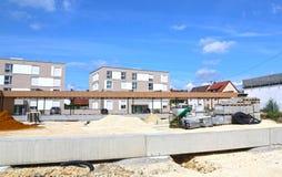 Mutlangen, Deutschland Juni 17,2018: Bau eines Gemeinschaftsbu lizenzfreies stockfoto