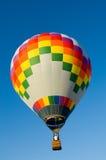 Mutlicolor hot air balloon Royalty Free Stock Image