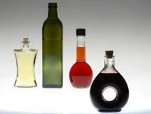 Mutliple coloreó la botella Imágenes de archivo libres de regalías