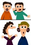 Muto e sordo Immagine Stock