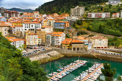 Mutriku. Town and port  Basque Country    Spain Stock Image