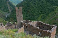 Mutso fortress ruins in Georgia Stock Image