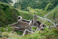Mutso village ruins Stock Photo