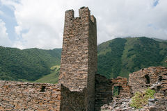 Mutso village ruins Stock Photography