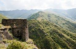 Mutso village ruins Stock Images