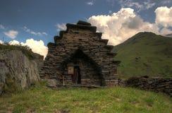 Mutso village ruins Stock Photos