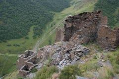 Mutso village ruins Stock Photo