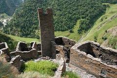 Mutso wioski ruiny Zdjęcie Stock