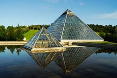 Muttart conservatory royalty free stock images