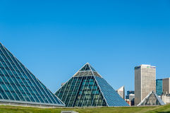 Muttart conservatory, Edmonton Royalty Free Stock Photo