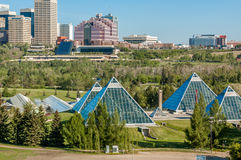 Muttart conservatory, Edmonton Royalty Free Stock Images
