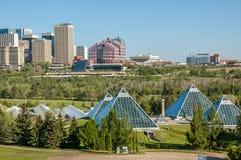 Muttart conservatory, Edmonton Royalty Free Stock Image